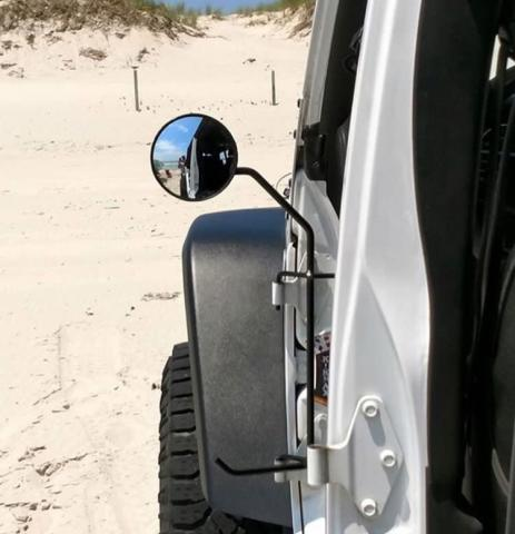 Jeep JK Foot Pegs W/Mirrors