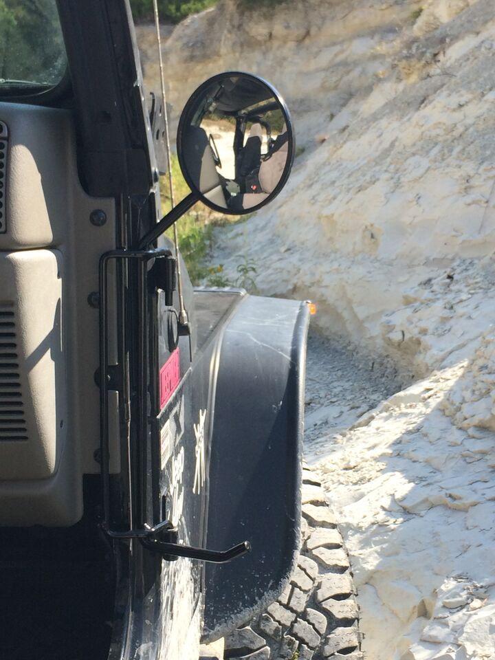 Jeep Tj Foot Pegs With Mirrors 97 06 Wrangler Tj Lj Kikbax